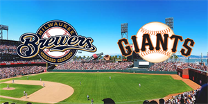 Brewers vs. Giants