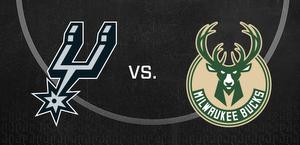 Spurs vs. Bucks